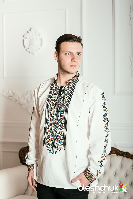 Чоловічі вишиванки – купити в інтернет магазині Oleshchuk.com 687a500bbfced
