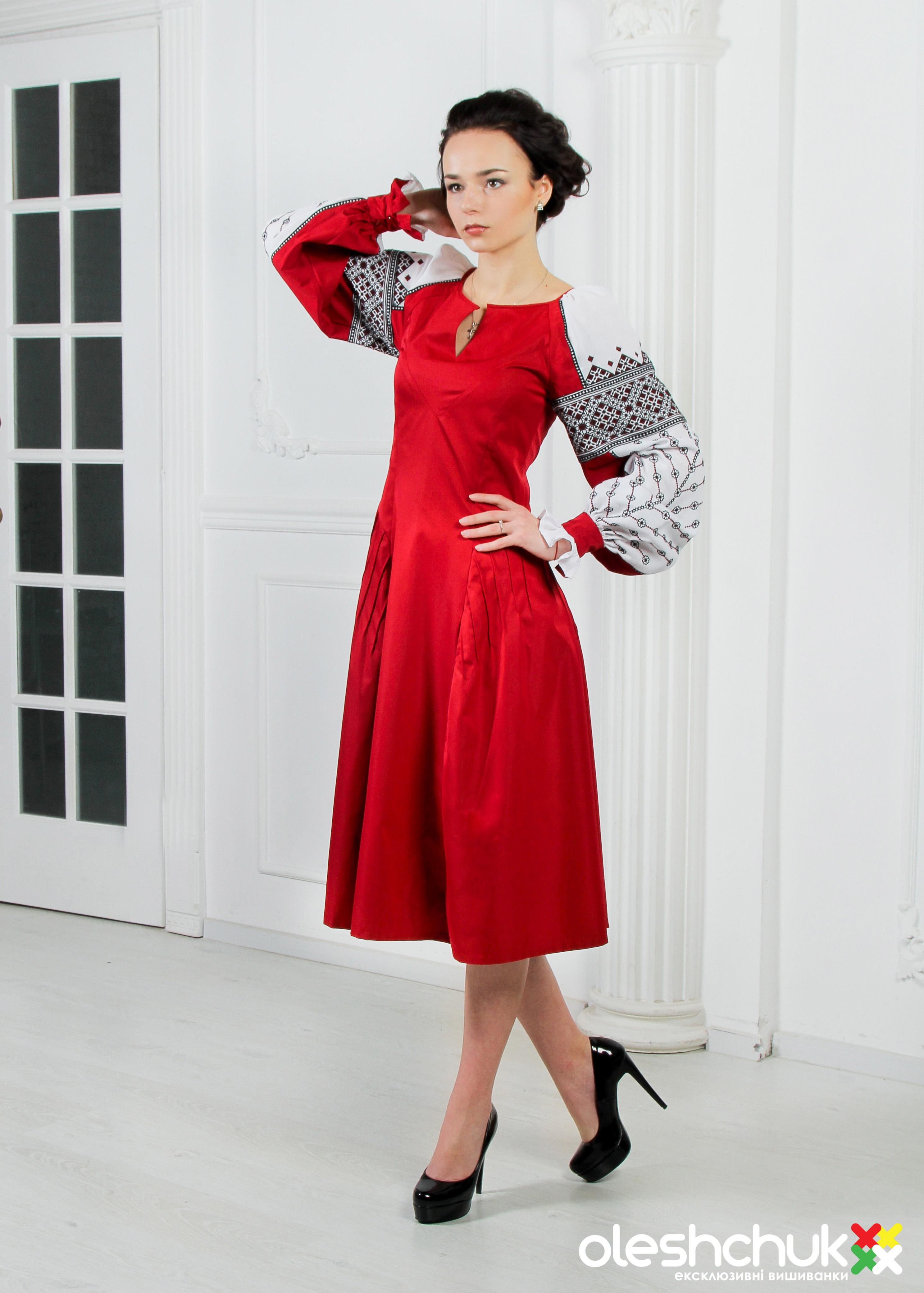 7dd3a163f20262 Вишита сукня