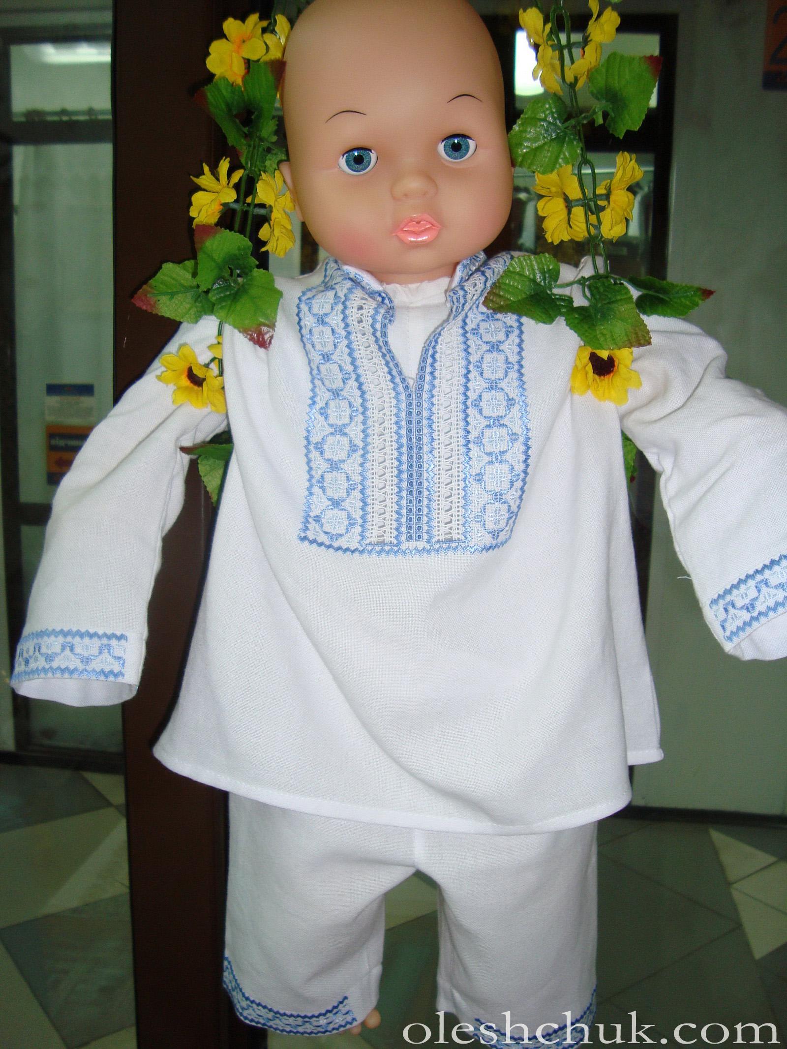 вишитий одяг для хрещення хлопчика 3678d47497f3b
