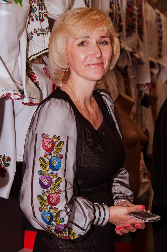 Галина Олещук, владелец торговой марки вышиванок