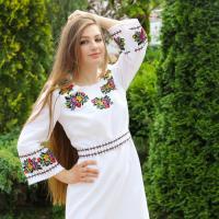 вишита сукня Львів'янка