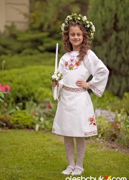 """дитяче вишите плаття """"Соломія"""", фото1"""