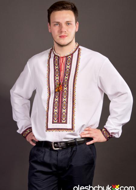"""сорочка """"Мужская осень"""" (новая)"""