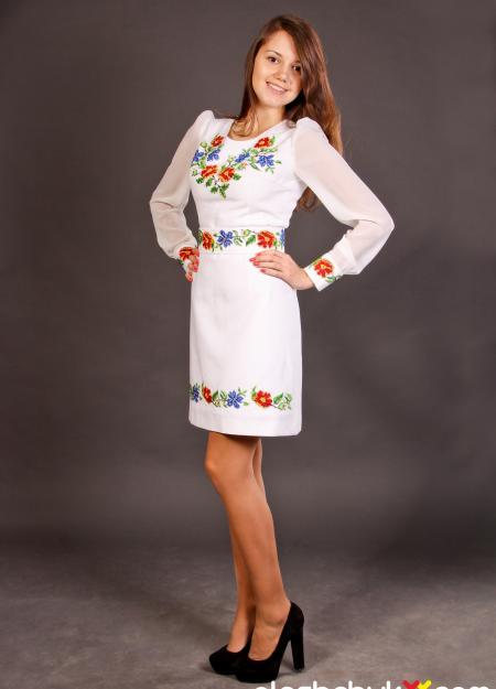 """вишита сукня """"Персиковий цвіт"""""""