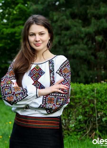 """женская вышитая рубашка """"Берегиня"""", фото1"""
