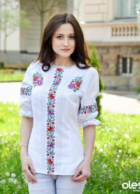 Вишиті Блузки В Москве