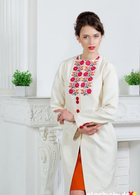 """женское пальто """"Весенняя роза"""""""