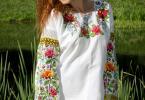 """вишита сорочка хрестиком """"Подих літа"""", фото2"""