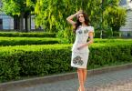 """жіноча сукня """"Синьоока красуня"""", фото4"""
