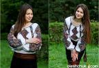 """жіноча вишита сорочка """"Берегиня"""", фото2"""