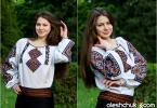 """жіноча вишита сорочка """"Берегиня"""", фото3"""