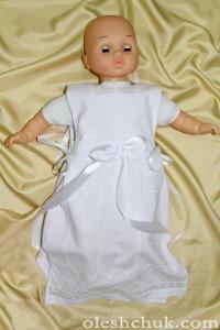 вишите плаття для хрещення дівчинки