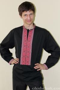 """вышитая рубашка """"Бандеривка"""""""