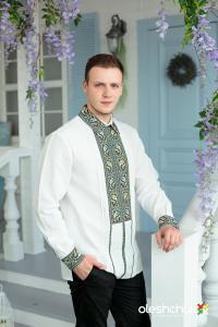 чоловіча вишиванка ручної роботи від бренду oleshchuk