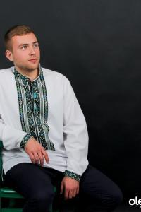 """мужская вышитая рубашка """"Лукаш"""""""