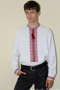 свадебная вышитая рубашка