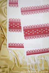 """Весільний рушник під ноги """"Любовні орнаменти"""""""