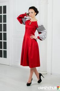 """Вишита сукня """"Барви пристрасті"""". Фото 1"""