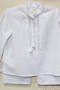 вишитий костюм для хрещення хлопців