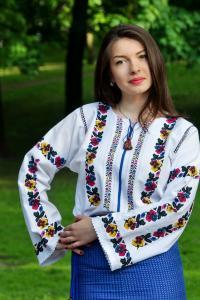 """жіноча вишита сорочка """"Долина братчиків"""", фото1"""