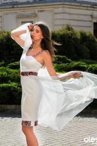 """жіноча вишита сукня """"Червона рута"""", фото1"""